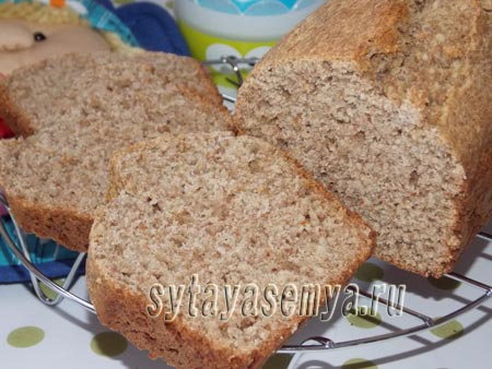 Банановый хлеб без дрожжей