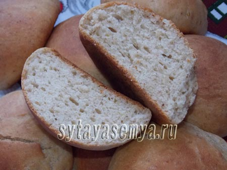Яблочно-ореховые булочки в духовке, рецепт с фото