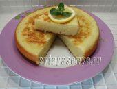 Миниатюра к статье Творожно-лимонный пирог в мультиварке