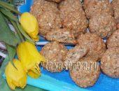 Миниатюра к статье Овсяное печенье с орехами