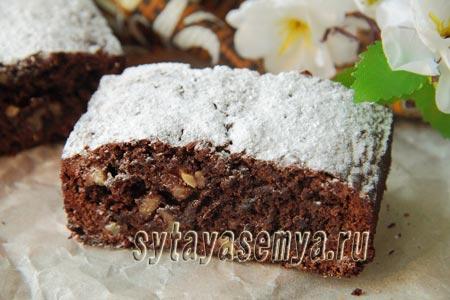 рецепт брауни с какао