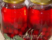 Миниатюра к статье Компот из вишни и смородины на зиму