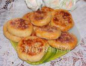 Миниатюра к статье Лепешки на кефире с картофелем в духовке
