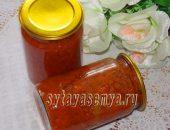 Миниатюра к статье Морковь в томатном соусе на зиму