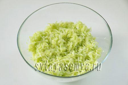 Сладкие оладьи из кабачков с манкой, пошаговый рецепт с фото