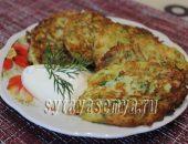 Миниатюра к статье Оладушки из кабачков с сыром