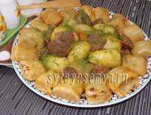 Миниатюра к статье Штрули рецепт с говядиной и овощами