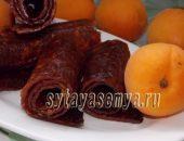 Миниатюра к статье Домашняя пастила из абрикосов с ядрами