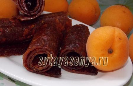 Домашняя пастила из абрикосов, пошаговый рецепт с фото