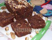 Миниатюра к статье Орехово-банановый хлеб с шоколадом