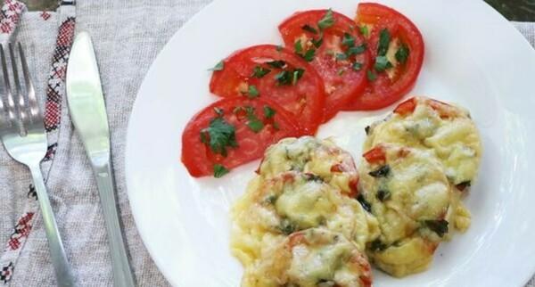 Рецепт отбивных из свинины в духовке с помидорами и сыром: пошагово с фото, видео