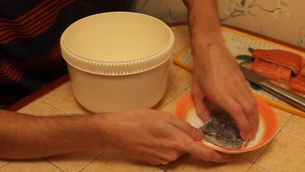 Форель слабосоленая: рецепт в домашних условиях - очень вкусная: фото