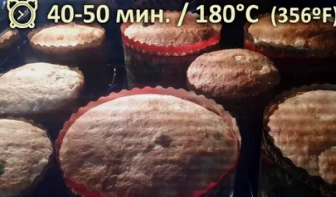 Кулич Александрийский на топленом молоке: рецепт с фото пошагово