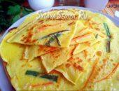 Рецепт: корейских блинчиков