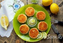 Рецепт: котлеты из крабовых палочек с сыром