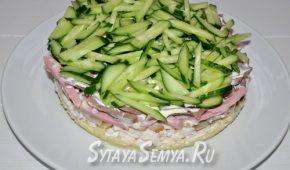 Миниатюра к статье Мясной салат «Фаворит» из «Магнита» — классический рецепт с фото