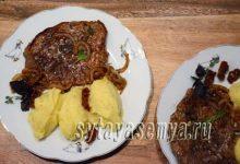 Миниатюра к статье Отбивные из говядины на сковороде рецепт без кляра