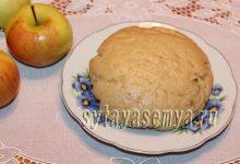 песочное тесто на растительном масле